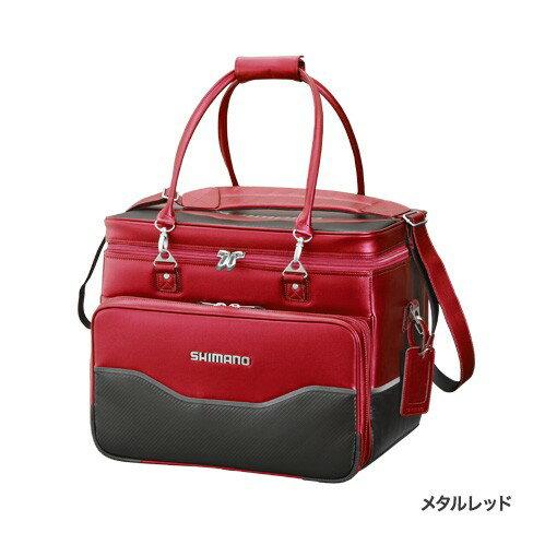 シマノ(Shimano) BA-012Q へらバッグXT メタルレッド  50 L