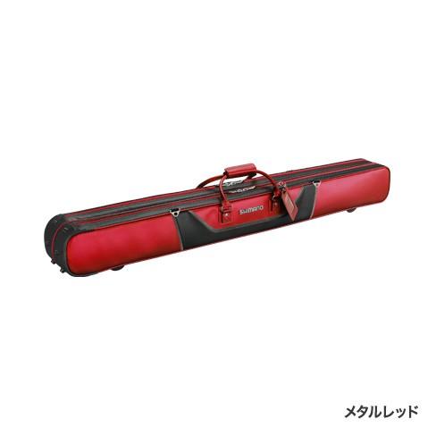 シマノ(Shimano) RC-012Q メタルレッド 2層 MOVEBASE へらロッドケースXT