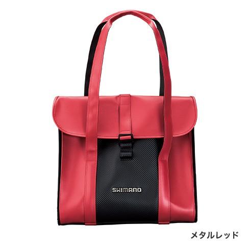 シマノ (Shimano) BA-043S メタルレッド へらサブバッグ XT