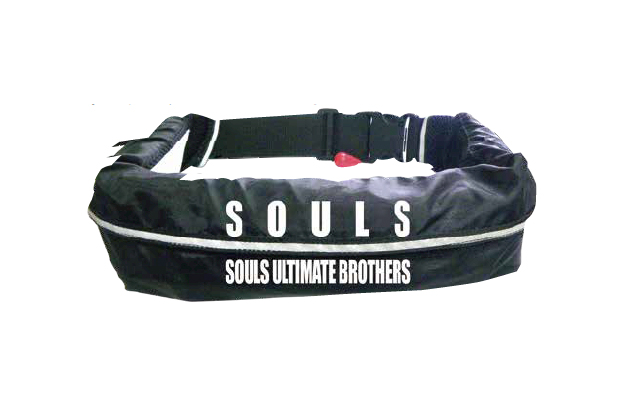 ソウルズ 自動膨張式ライフジャケット ウエストベルト式 souls ウエストベルトタイプ