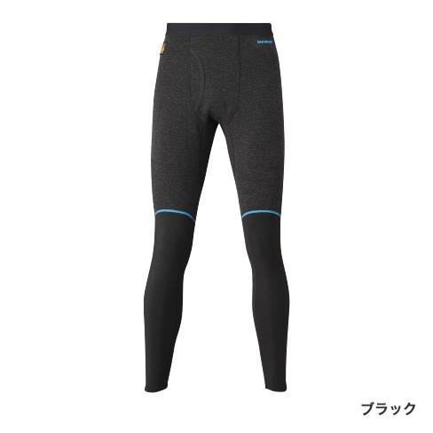 シマノ (Shimano) IN-055S ブラック XLサイズ ブレスハイパー+℃ ハイブリッドアンダータイツ