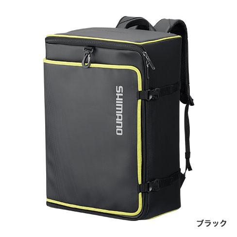シマノ(Shimano) BA-023Q 43 L ブラック  MOVEBASE へらバッグ