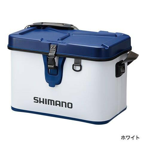 シマノ (Shimano) BK-001Q ホワイト 27L タックルボートバッグ(ハードタイプ)