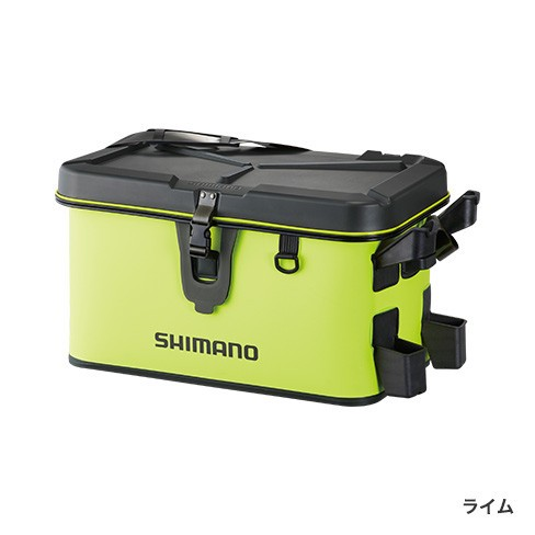シマノ(Shimano) BK-007R 27L ライム ロッドレスト ボートバッグ(ハードタイプ)