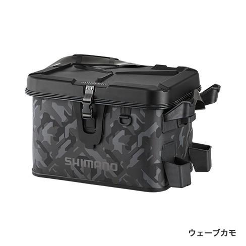 シマノ(Shimano) BK-007R 32L ウェーブカモ  ロッドレスト ボートバッグ(ハードタイプ)