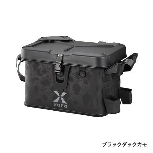 シマノ (Shimano) BK-201Q ブラックダックカモ 27L XEFO タックルバッグ [XEFO TACKLE BAG]