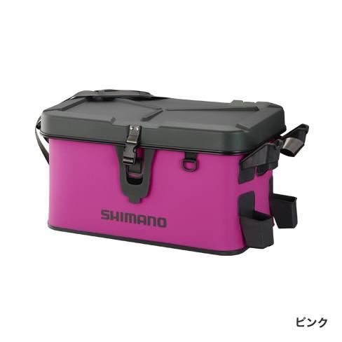 シマノ (Shimano) BK-007R ピンク 32L ロッドレスト ボートバッグ(ハードタイプ)