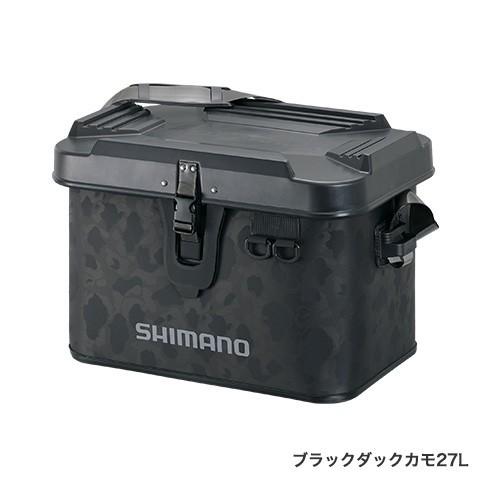 シマノ (Shimano) BK-001T ブラックダックカモ 22L タックルボートバッグ(ハードタイプ)