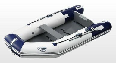 アキレス (Achilles) L-4セット LF-297WB トーハツ2馬力セット 4人乗り バイオレットブルーパールグレー太鼓判 スペシャルセット
