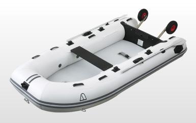 アキレス (Achilles) PV-300DX 4人乗り ホワイト ライトドーリー付属