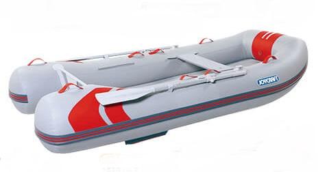 ジョイクラフト(JOYCRAFT)ゴムボート レッドキャップ335ロング 超高圧電動ポンプ付き 5人乗り ※写真は300です