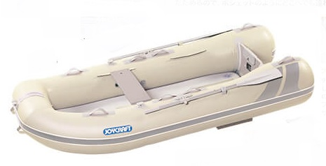 ジョイクラフト(JOYCRAFT)ゴムボート ラポッシュ260 超高圧電動ポンプなし 3人乗り 画像は290です