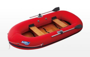 アキレス(Achilles) EC4-642  4人乗りボート 水遊び、野池、ダム