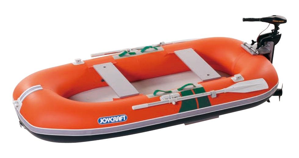 ジョイクラフト(JOYCRAFT)ゴムボート TW-269  4人乗り ※画像のモーターマウントエレキは付いておりません