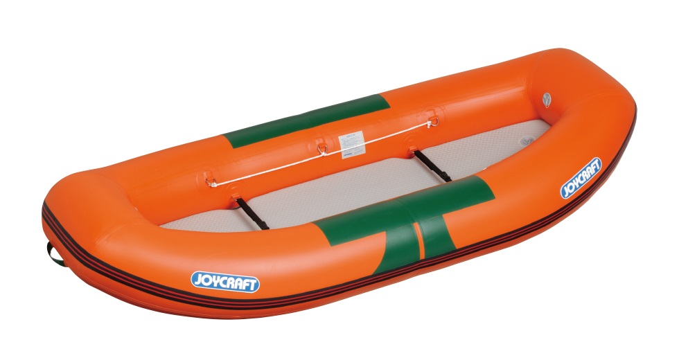 ジョイクラフト(JOYCRAFT)ゴムボート RB-275  2人乗り オレンジ