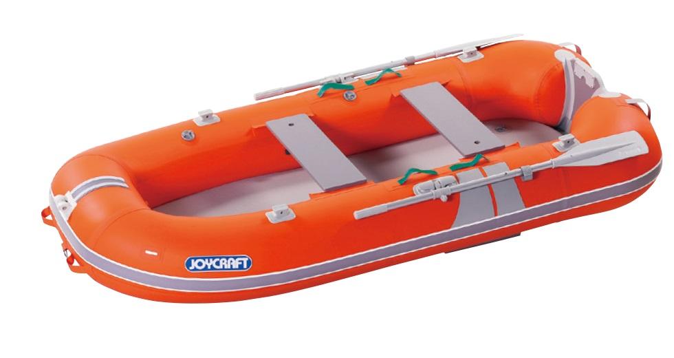 ジョイクラフト(JOYCRAFT)ゴムボート KEM-275GSセット 4人乗り 高速電動ポンプ+プレッシャーゲージ付きセット