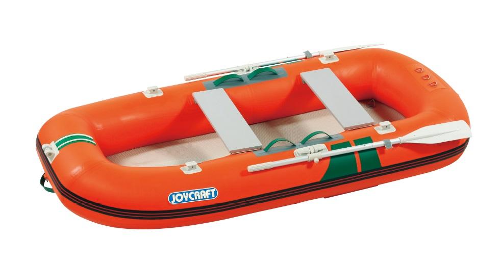 ジョイクラフト(JOYCRAFT)ゴムボート KE-275GSセット 4人乗り 高速電動ポンプ+プレッシャーゲージ付きセット