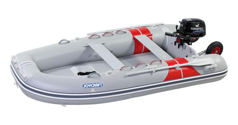 ジョイクラフト(JOYCRAFT)JEX-315ワイド 4人乗り トーハツ6馬力 予備検査付きエンジンセット