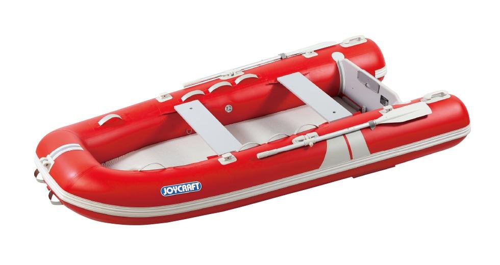 ジョイクラフト(JOYCRAFT)ゴムボート グランド325 ホンダ2馬力セット 予備検査無し レッド