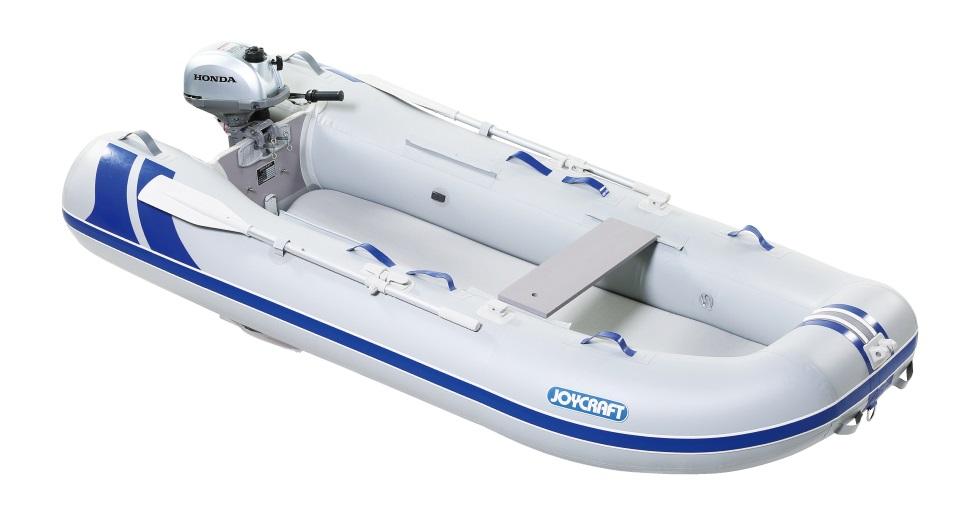 ジョイクラフト(JOYCRAFT)ゴムボート ブルーサファイア295 トーハツ2馬力セット 予備検査無し ※画像はホンダエンジンです