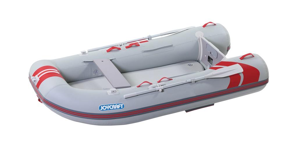 ジョイクラフト(JOYCRAFT)ゴムボート レッドキャップ265 超高圧電動ポンプなし 3人乗り
