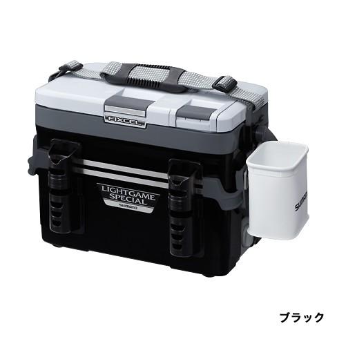シマノ(Shimano)LF-L22N [フィクセル・ライト ゲームスペシャル 220] ブラック FIXCEL LIGHT GAMESPECIAL 220 *画像は各サイズ共通になります。