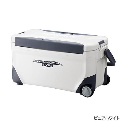 シマノ(Shimano) UC-125N ピュアホワイト SPAZA BASIS 250 キャスター付[スペーザ ベイシス]