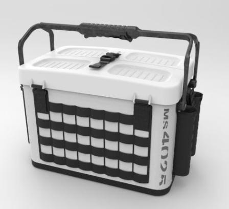 最新エルメス 第一精工 タックルキャリアーMS4025(シロ×クロ), 暮らしの発研:b93730a5 --- canoncity.azurewebsites.net