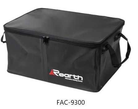 中に間仕切りを施しました。 リアス (Rearth) FAC-9300 BLK Rearth トランスカーゴ