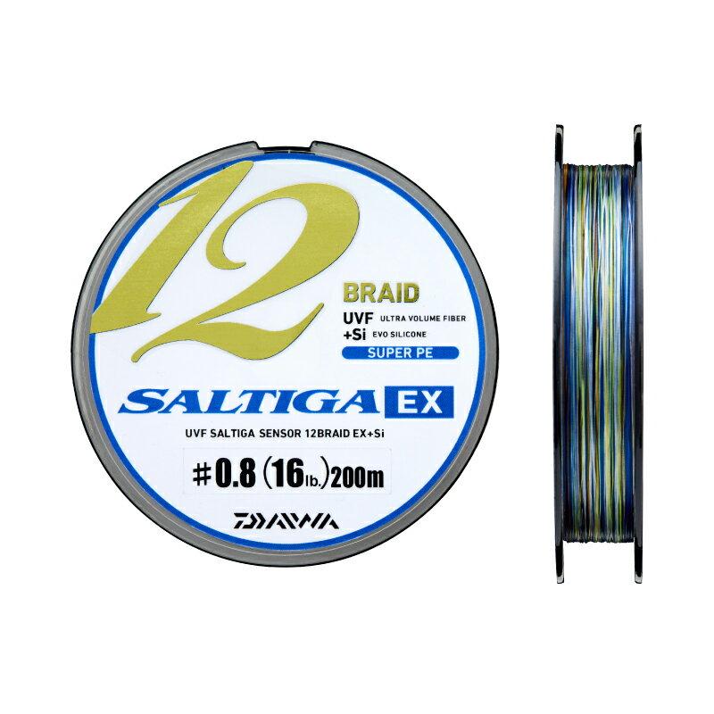 ダイワ(Daiwa)UVF ソルティガセンサー 12ブレイドEX+Si 2号(36lb) 600m巻き ※ 画像は各サイズ共通になります。