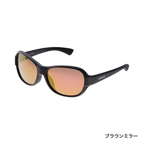 シマノ (Shimano) UJ-101T フレームカラー:ブラック レンズカラー:ブラウンミラー VALBAROS TYPE D