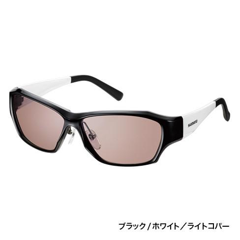 シマノ(Shimano) HG-122N フレーム;ブラック/ホワイト   レンズ :シルバーミラーミドルドゥーブル Lavalna-R(ラヴァルナ-R)