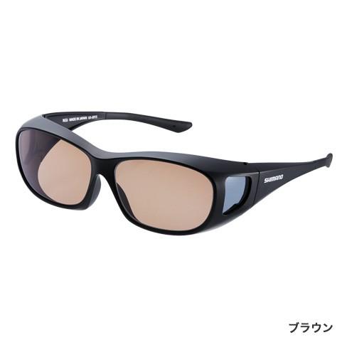 シマノ (Shimano) UJ-201S ブラウン シマノオーバーグラス