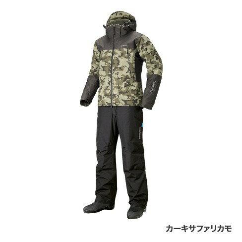 シマノ(shimano)RB-025R カーキサファリカモ L DSアドバンスウォームスーツ