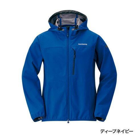 シマノ (Shimano) JA-040Q ディープネイビー XLサイズ ストレッチ 3レイヤーフーディ ジャケット