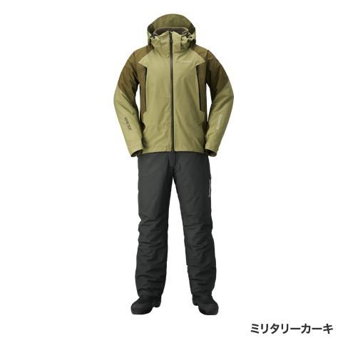 シマノ(shimano)RB-017R ミリタリーカーキ Lサイズ GORE-TEX® ベーシックウォームスーツ