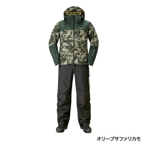 シマノ(shimano)RB-025R オリーブサファリカモ XL DSアドバンスウォームスーツ