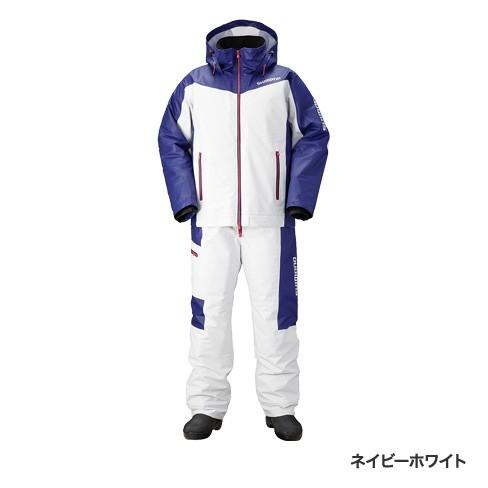 シマノ(shimano)RB-035N ネイビーホワイト XLサイズ マリンコールドウェザースーツ EX