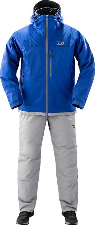 ダイワ (Daiwa) DW-3209 ブルー 2XLサイズ レインマックス®エクストラ ハイロフト ウィンタースーツ