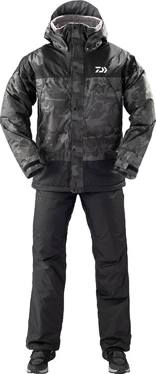 ダイワ (Daiwa) DW-35009 ブラックカモ 3XLサイズ レインマックス® ウィンタースーツ