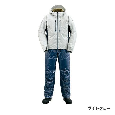 シマノ (shimano) RB-033R ライトグレー Lサイズ SS・3Dマリンコールドウェザースーツ