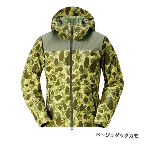 シマノ (shimano) RB-04JS ベージュダックカモ Mサイズ DSエクスプローラーウォームジャケット