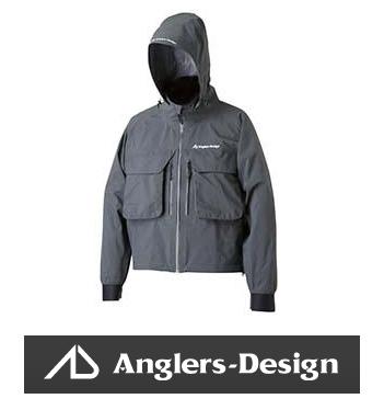 アングラーズデザイン ADR-12 ストレッチウェーディングレインジャケット ガンメタ 3Lサイズ AD anglers-design