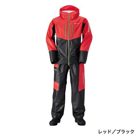 シマノ(shimano) RA-034N  レッド/ブラック  XLs  マリンライトスーツ