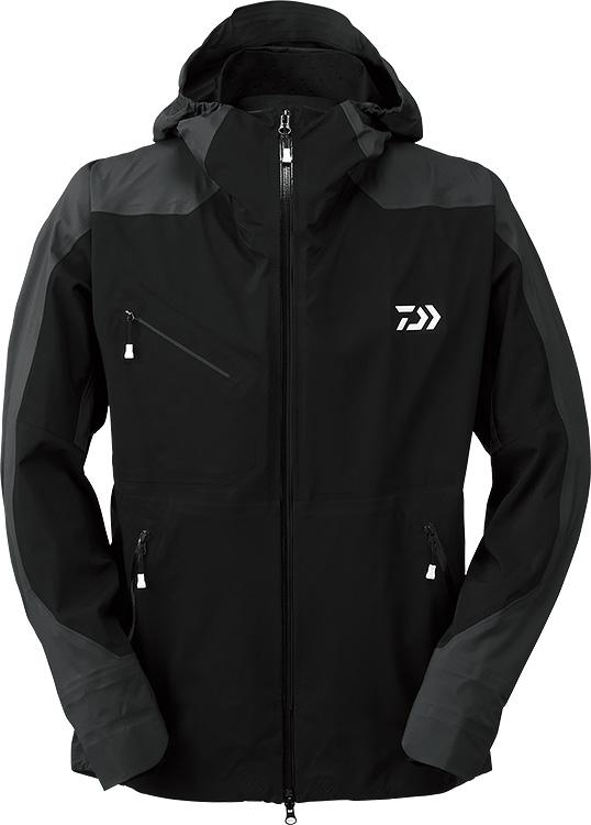 ダイワ (Daiwa) DR-20009J ブラック Mサイズ (ポーラテック® ネオシェル® ハイブリッドレインジャケット)