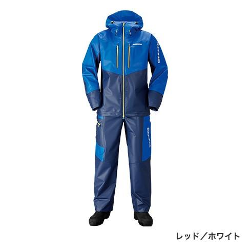 シマノ (shimano) RA-034N ブルー/ネイビー 2XLサイズ マリンライトスーツ