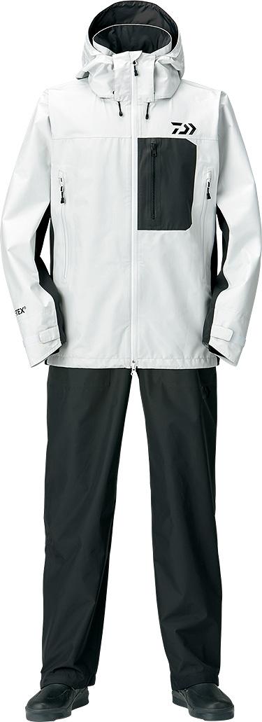 ダイワ (Daiwa) DR-1908 ライトグレー Lサイズ(ゴアテックス®プロダクト パックライト® レインスーツ)
