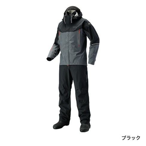 シマノ (shimano) RA-025S ブラック XLサイズ DSアドバンススーツ