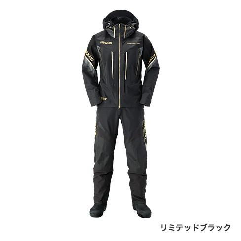 シマノ (shimano) RA-112S リミテッドブラック XLサイズ NEXUS・GORE-TEX® レインスーツ LIMITED PRO