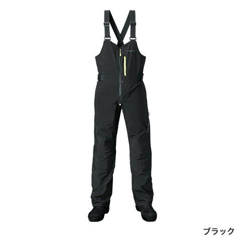 シマノ (shimano) RA-26PS ブラック 3XLサイズ XEFO・DURASTレインビブ